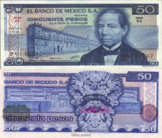 Mexiko Pick-Nr: 65c Bankfrisch 1978 50 Pesos - Mexico