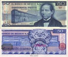 Mexiko Pick-Nr: 67a Bankfrisch 1978 50 Pesos - Mexico