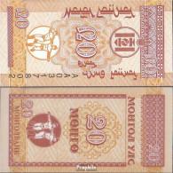 Mongolei Pick-Nr: 50 Bankfrisch 1993 20 Mongo - Mongolia