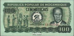 Mosambik 126 (1980) Bankfrisch 1980 100 Meticais - Mozambique