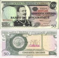 Mosambik Pick-Nr: 116 Bankfrisch 1976 50 Escudos - Moçambique