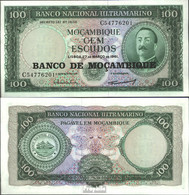 Mosambik Pick-Nr: 117a Bankfrisch 1976 100 Escudos - Moçambique