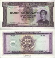 Mosambik Pick-Nr: 118a Bankfrisch 1976 500 Escudos - Moçambique