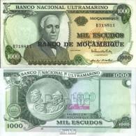 Mosambik Pick-Nr: 119 Bankfrisch 1976 1.000 Escudos - Mozambique