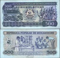 Mosambik Pick-Nr: 131a Bankfrisch 1983 500 Meticais - Moçambique