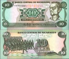 Nicaragua Pick-Nr: 151 Bankfrisch 1985 10 Córdobas - Nicaragua