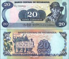 Nicaragua Pick-Nr: 152 Bankfrisch 1985 20 Córdobas - Nicaragua