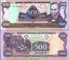 Nicaragua Pick-Nr: 155 Bankfrisch 1985 500 Córdobas - Nicaragua