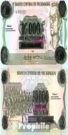 Nicaragua Pick-Nr: 158 Bankfrisch 1989 10.000 Cordobas - Nicaragua
