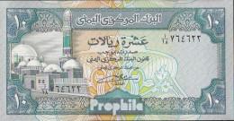 Nordjemen (Arabische Rep.) Pick-Nr: 23 Bankfrisch 1992 10 Rials - Jemen