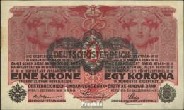 Österreich Kat-Nr.: 169 (49) Bankfrisch 1919 1 Krone - Oesterreich