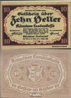 Österreich Kat-Nr.: 63Kärnten (S106) Kärntner Landeskasse Bankfrisch 1920 10 Heller - Oesterreich