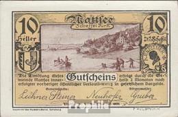 Mattsee Notgeld Der Gemeinde Mattsee Bankfrisch 1920 10 Heller - Oesterreich