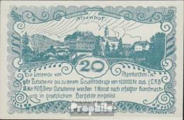 Pfarrkirchen Notgeld Der Gemeinde Pfarrkirchen Bankfrisch 1920 20 Heller - Oesterreich