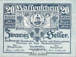 Traiskirchen Notgeld Der Gemeinde Traiskirchen Bankfrisch 1920 20 Heller - Oesterreich