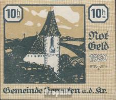 Kematen Notgeld Der Stadt Kematen Bankfrisch 1920 10 Heller - Autriche