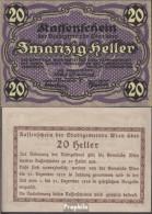 Österreich Pick-Nr: 9Wien, Im Text Kein Ausgabebetrag Bankfrisch 1920 20 Heller - Oesterreich