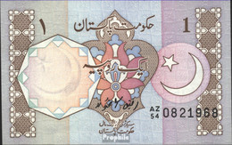 Pakistan Pick-Nr: 27h Bankfrisch 1983 1 Rupee - Pakistan
