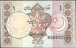 Pakistan Pick-Nr: 27m Bankfrisch 1983 1 Rupee - Pakistan
