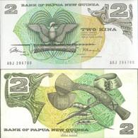 Papua-Neuguinea Pick-Nr: 5a Bankfrisch 1981 2 Kina Vogel - Papouasie-Nouvelle-Guinée