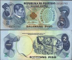 Philippinen Pick-Nr: 159b Bankfrisch 1978 2 Piso - Philippinen