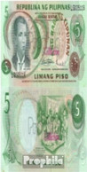 Philippinen Pick-Nr: 160a Bankfrisch 1978 5 Piso - Philippinen