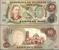 Philippinen Pick-Nr: 161b Bankfrisch 10 Piso - Philippinen