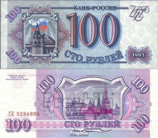 Russland Pick-Nr: 254 Bankfrisch 1993 100 Rubles - Russland