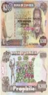 Sambia Pick-Nr: 35a Bankfrisch 1991 500 Kwacha Adler - Sambia