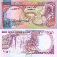Sao Tome E Principe Pick-Nr.:63 Bankfrisch 1993 500 Dobras - Sao Tomé Et Principe