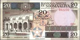 Somalia Pick-Nr: 33a Bankfrisch 1983 20 Shillings - Somalia