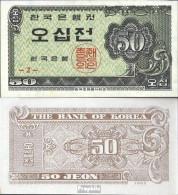 Süd-Korea Pick-Nr: 29a Bankfrisch 1962 50 Jeon - Corée Du Sud