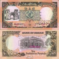 Sudan Pick-Nr: 46 Bankfrisch 1991 10 Pounds - Sudan