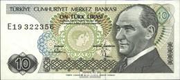 Türkei Pick-Nr: 192 Bankfrisch 1970 10 Lira - Türkei