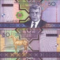 Turkmenistan Pick-Nr: 17 Bankfrisch 2005 50 Manat - Turkmenistan