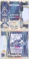 Uganda Pick-Nr: 31b Bankfrisch 1988 100 Shillings - Ouganda
