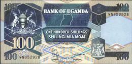 Uganda Pick-Nr: 31c (1998) Bankfrisch 1998 100 Shillings - Ouganda