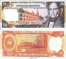 Venezuela Pick-Nr: 65f Bankfrisch 1998 50 Bolivares - Venezuela