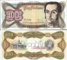 Venezuela Pick-Nr: 66f Bankfrisch 1998 100 Bolivares - Venezuela