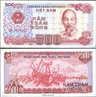 Vietnam Pick-Nr: 101a Bankfrisch 1988 500 Dong - Vietnam