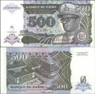 Zaire Pick-Nr: 63a Bankfrisch 1994 500 Zaires (new) - Zaire