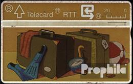 Belgien 90 20 Einheiten Gebraucht 1990 Carte Vacances - Bélgica