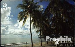 Brasilien 1060 20 EH Gebraucht 1995 Palmenstrand - Brésil