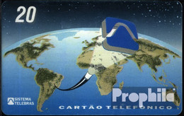 Brasilien 850 20 EH Gebraucht Globus - Brasilien