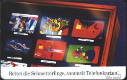 BRD (BR.Deutschland) PD26 PD 08/96 Gebraucht 1996 Schmetterlinge - P & PD-Series: Schalterkarten Der Dt. Telekom