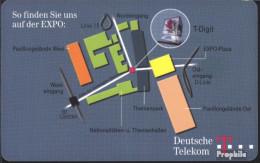 BRD (BR.Deutschland) PD82 PD 09/00 Gebraucht 2000 T-Digital Auf EXPO - Germania