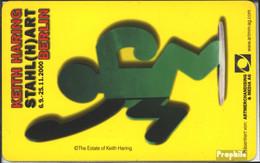 BRD (BR.Deutschland) PD86 PD 13/00 Gebraucht 2000 Keith Haring - Germania