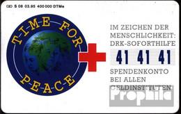 BRD (BR.Deutschland) S227 S 08/95 Gebraucht 1995 Time For Peace - S-Series: Schalterserie Mit Fremdfirmenreklame