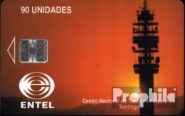 Chile 3 90 Unidades Gebraucht Telekommunikation - Chili