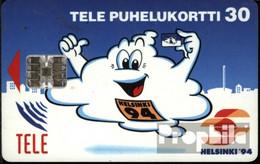 Finnland 830 30 Einheiten gebraucht 1994 Geist auf blau